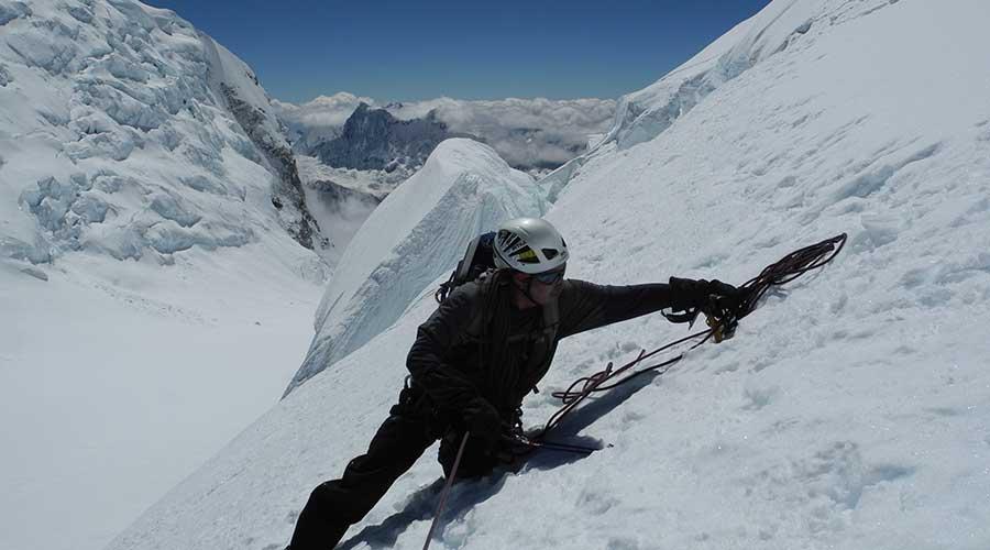 Climbing Huascaran