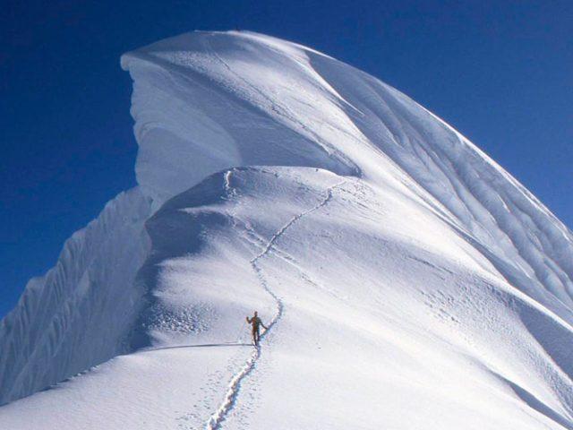 Climbing Chopicalqui (6386m / 20946ft)